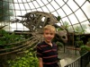 Ethan with Archelon fossil